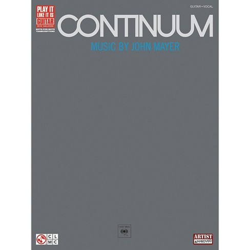 Hal Leonard John Mayer Continuum Guitar Tab Songbook - image 1 of 1