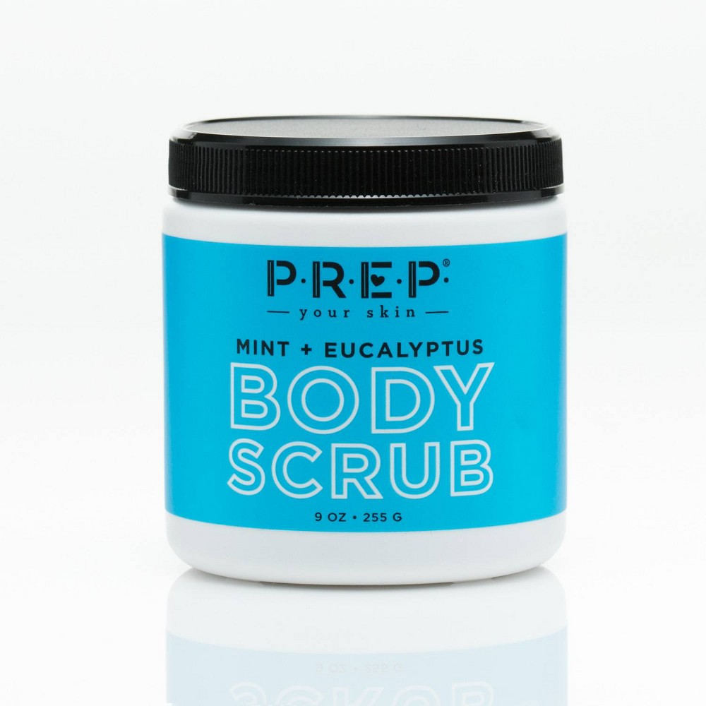 Image of PREP Your Skin Mint and Eucalyptus Body Scrub - 9oz