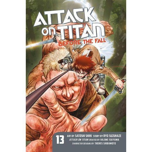 Attack on Titan: Before the Fall 13 - by  Ryo Suzukaze (Paperback) - image 1 of 1