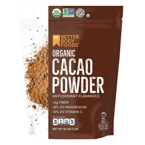 BetterBody Foods Organic Cacao Powder - 16oz - image 1 of 2