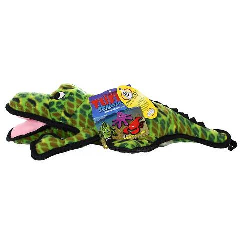 Tuffy Ocean Creature Alligator Pet Toy - Green - image 1 of 3