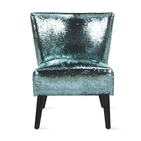 Mazzy Sequin Accent Chair - Novogratz - image 1 of 4