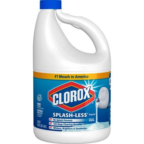 Clorox Regular Splash Less Bleach 116oz