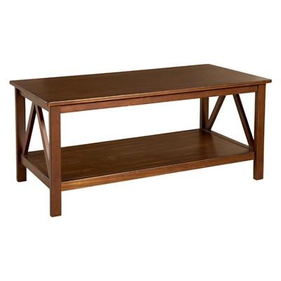 Titian Coffee Table Driftwood - Linon
