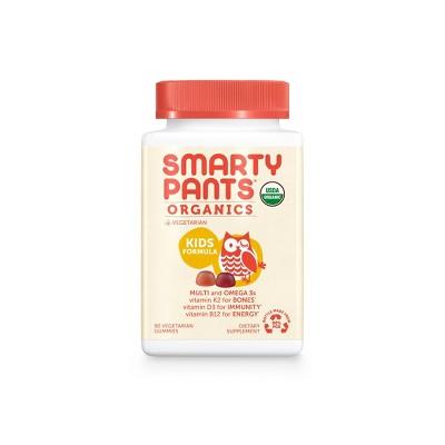 Multivitamins: SmartyPants Organics Kids Complete
