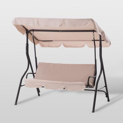 Clio Porch Swing - Beige - Sunjoy