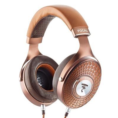 Focal Stellia Closed-Back Circum-Aural Over-Ear Headphones (Cognac)