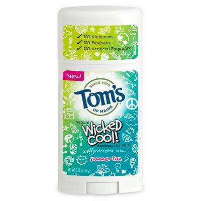Deodorant: Tom's of Maine Wicked Cool! for Girls