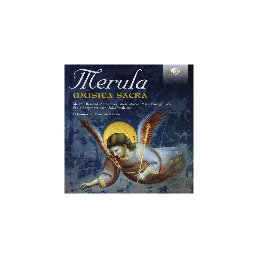Various - Merula:Musica Sacra (CD)
