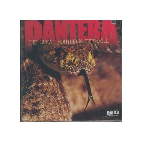 Pantera - Great Southern Treadkill (EXPLICIT LYRICS) (CD) - image 1 of 4
