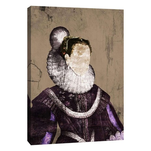 "Royal Face Decorative Canvas Wall Art 11""x14"" - PTM Images - image 1 of 1"