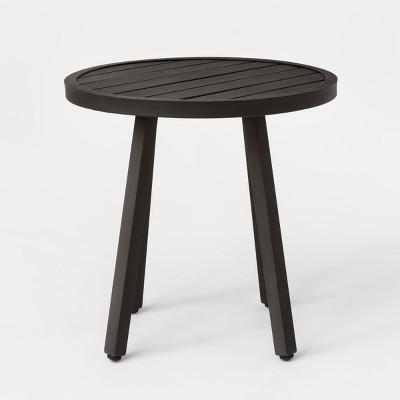 Merveilleux Fairmont Patio Side Table Black   Threshold™