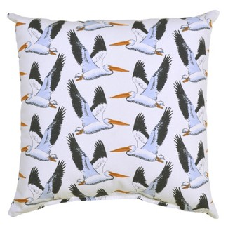Outdoor Throw Pillow Square - Pelicans - Threshold™