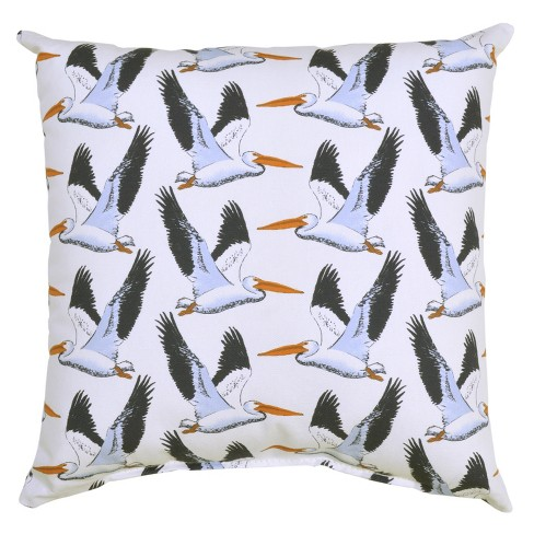 Outdoor Throw Pillow Square - Pelicans - Threshold™ - image 1 of 2