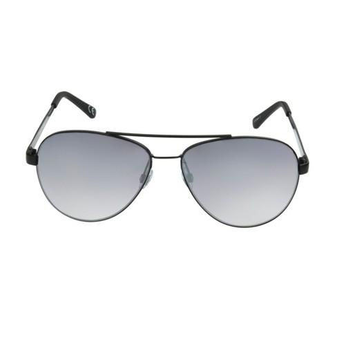 Men's Aviator Sunglasses - Goodfellow & Co™ Black - image 1 of 2