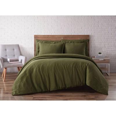 Flax Linen King  Duvet Set - Brooklyn Loom