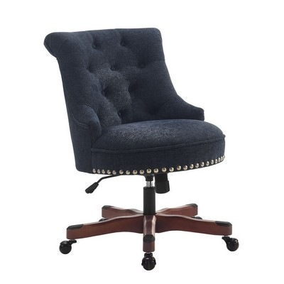 Task And Office Chairs Dark Blue - Linon