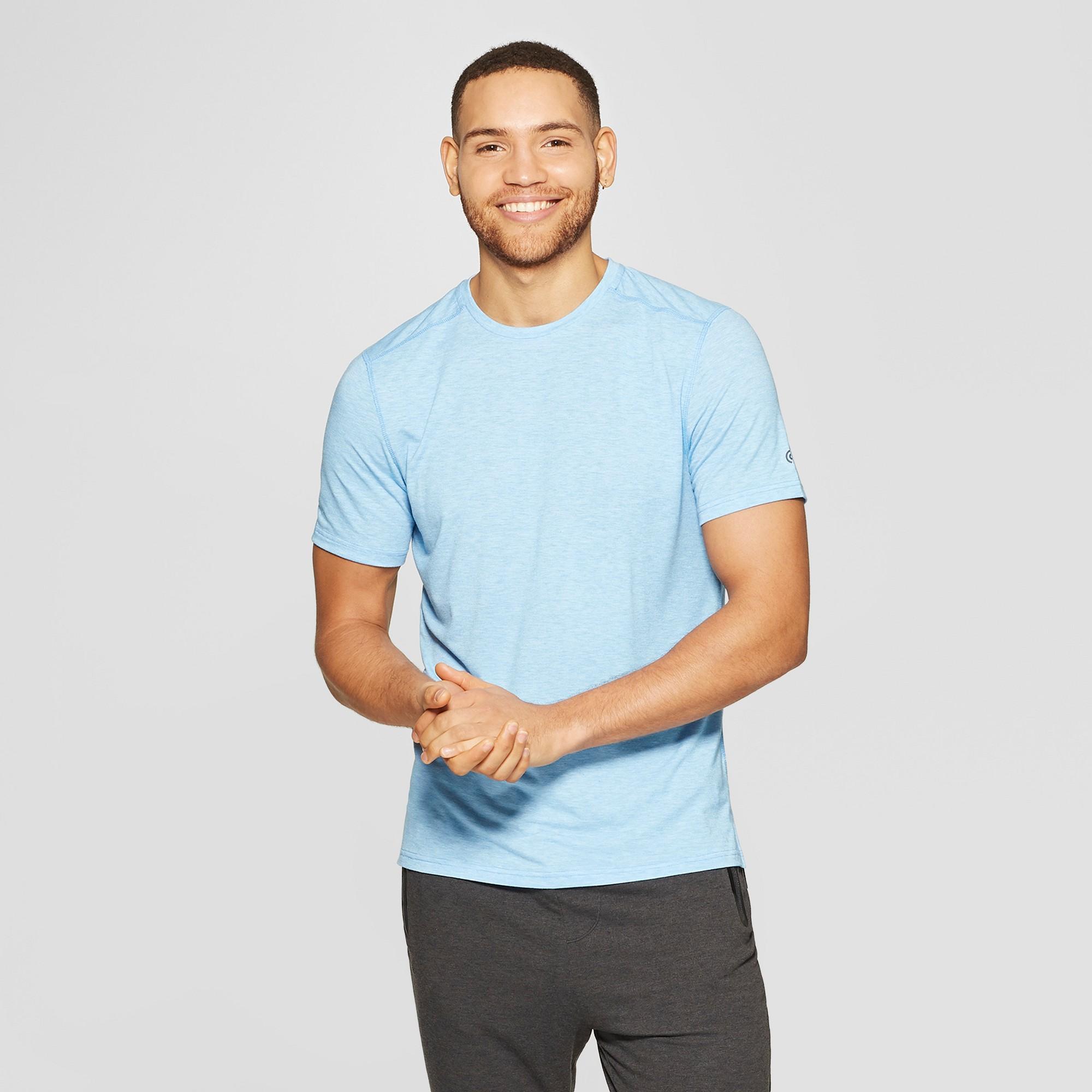 Men's Soft Touch T-Shirt - C9 Champion Active Blue Heather XL