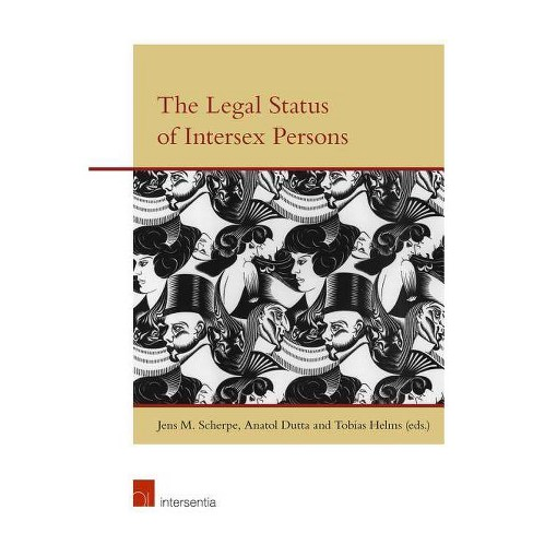 The Legal Status of Intersex Persons - (Paperback) - image 1 of 1