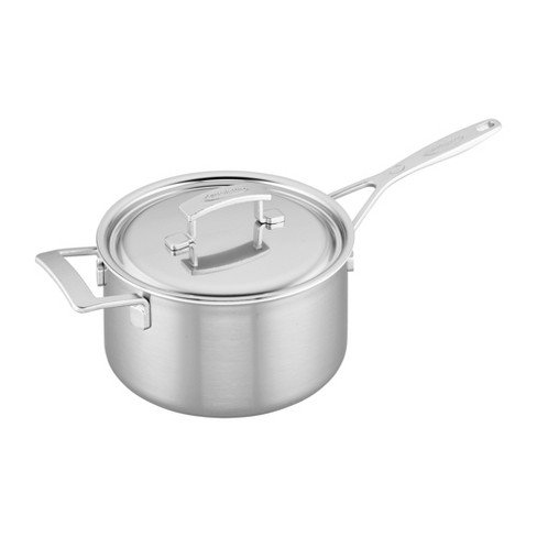 Demeyere Industry 5-Ply Stainless Steel Saucepan - image 1 of 4