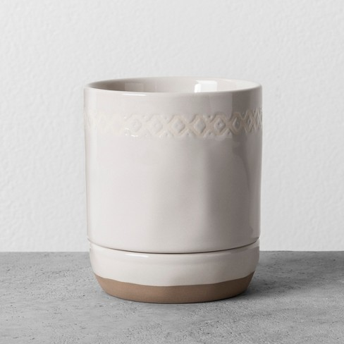 Bathroom Tumbler Cream - Hearth & Hand™ with Magnolia - image 1 of 2