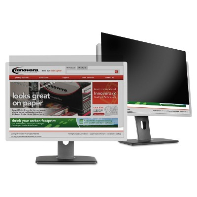 """Innovera Blackout Privacy Filter for 22"""" Widescreen LCD Monitor 16:10 Aspect Ratio BLF22W"""