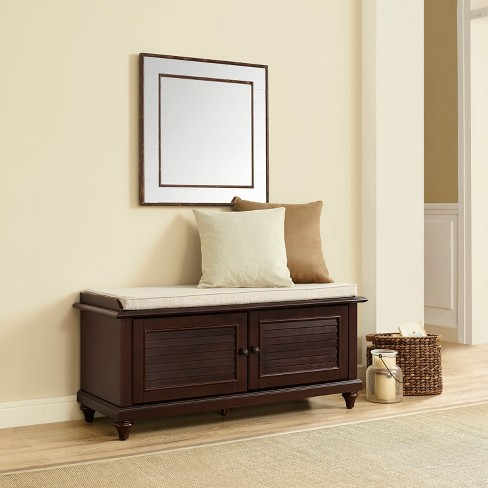 Phenomenal Palmetto Entryway Storage Bench Crosley Short Links Chair Design For Home Short Linksinfo