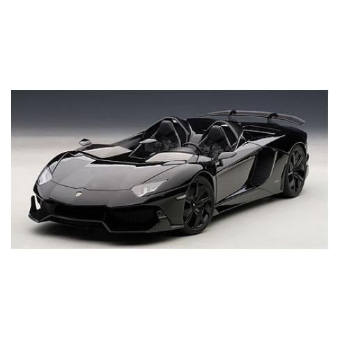 Lamborghini Aventador J Black 1/18 Diecast Car Model by Autoart - image 1 of 3