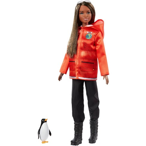 Barbie National Geographic Doll with Penguin - image 1 of 4
