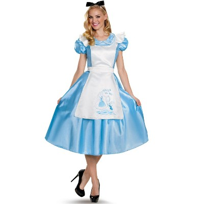 Alice in Wonderland Classic Alice Deluxe Adult Costume