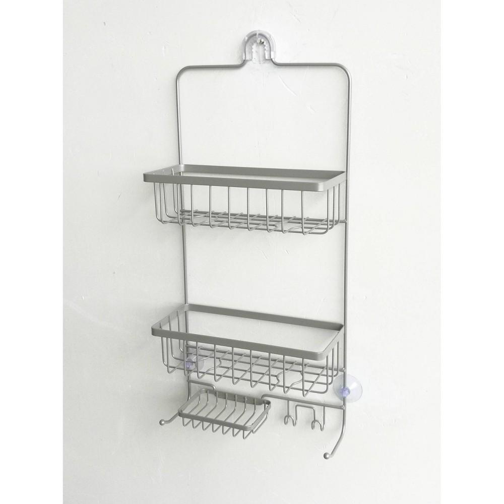 Bathroom Shower Caddy Brushed Nickel Made By Design 8482