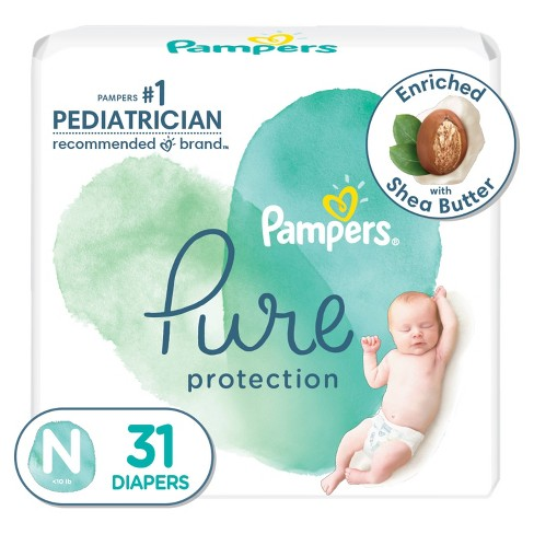 Pampers Pure Protection Diapers - (Select Size and Count) - image 1 of 4