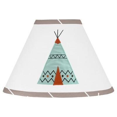 Sweet Jojo Designs Outdoor Adventure Lamp Shade - Aqua