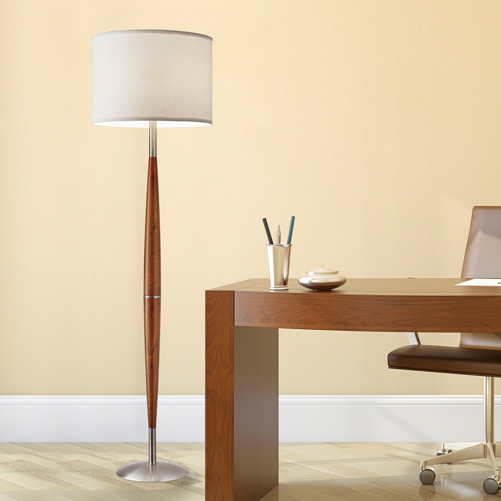 Adesso Hudson Floor Lamp - Brown (Lamp Only)