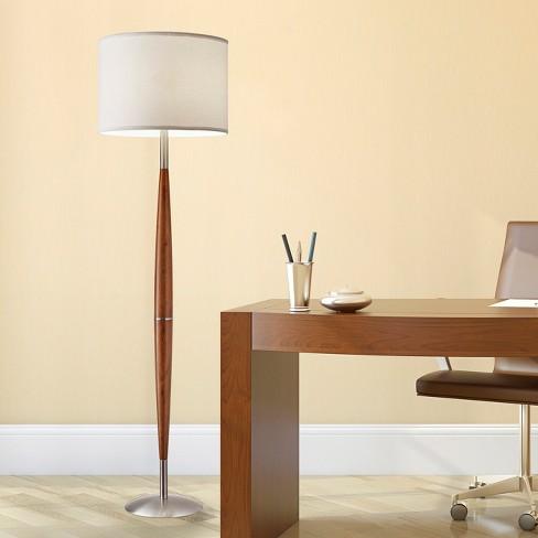 Adesso Hudson Floor Lamp Brown