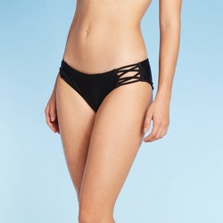 Juniors' Cheeky Bikini Bottom - Xhilaration™ Black