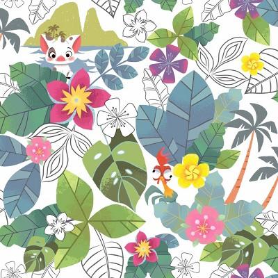 Disney Moana Jungle Peel and Stick Wallpaper - RoomMates