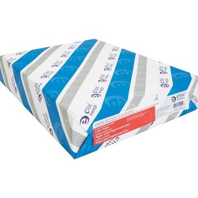 "Elite Laser Paper 24 Lb 8-1/2"" x 11"" 97 GE/112 ISO 500 Sht/RM WE 45002"