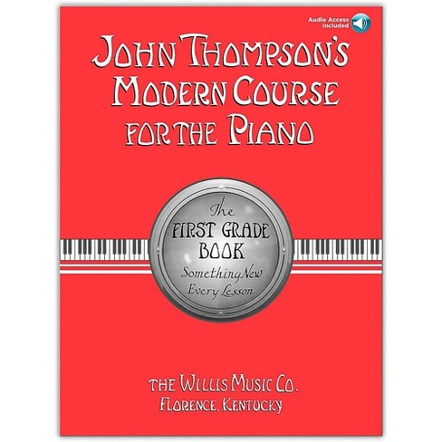 Willis Music John Thompson's Modern Course for The Piano Grade 1 (Book/Online Audio) - image 1 of 1