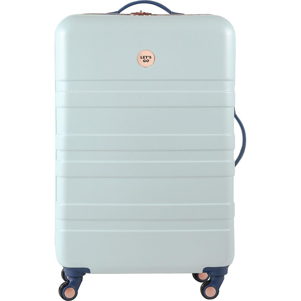 Designlovefest 28 Hardside Suitcase - Sage Green, Mint Green