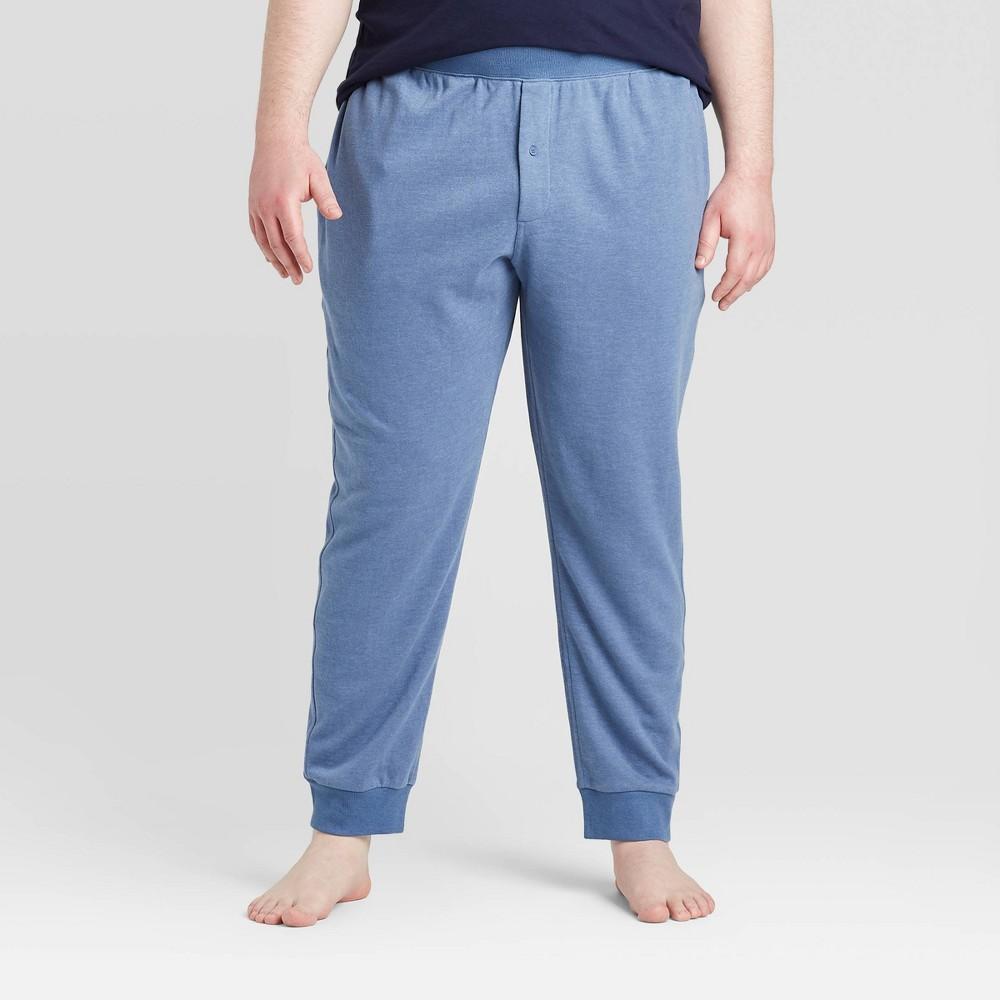 Men 39 S Big 38 Tall Knit Jogger Pajama Pants Goodfellow 38 Co 8482 Blue 2xbt