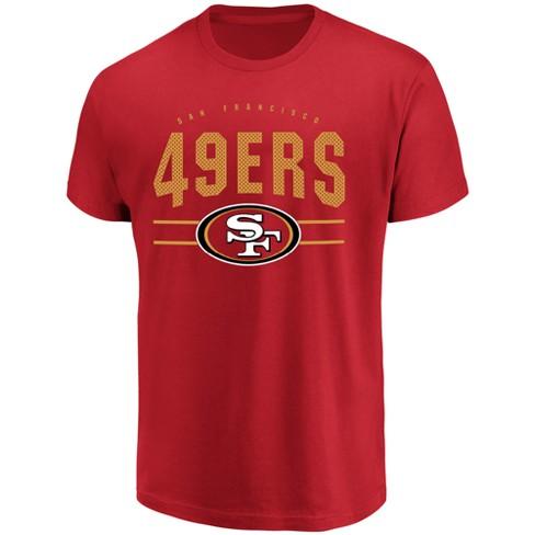 San Francisco 49ers Men's Passing Game T-Shirt L - image 1 of 2