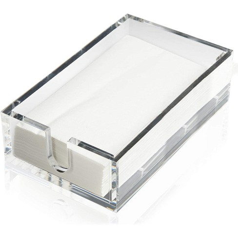 Acrylic Napkin Holder with Napkins (Fits 8 x 4.5 in.) - image 1 of 2