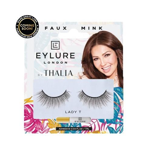7504b512d14 Eylure False Eyelashes Thalia Faux Mink Lady T - 1pr : Target