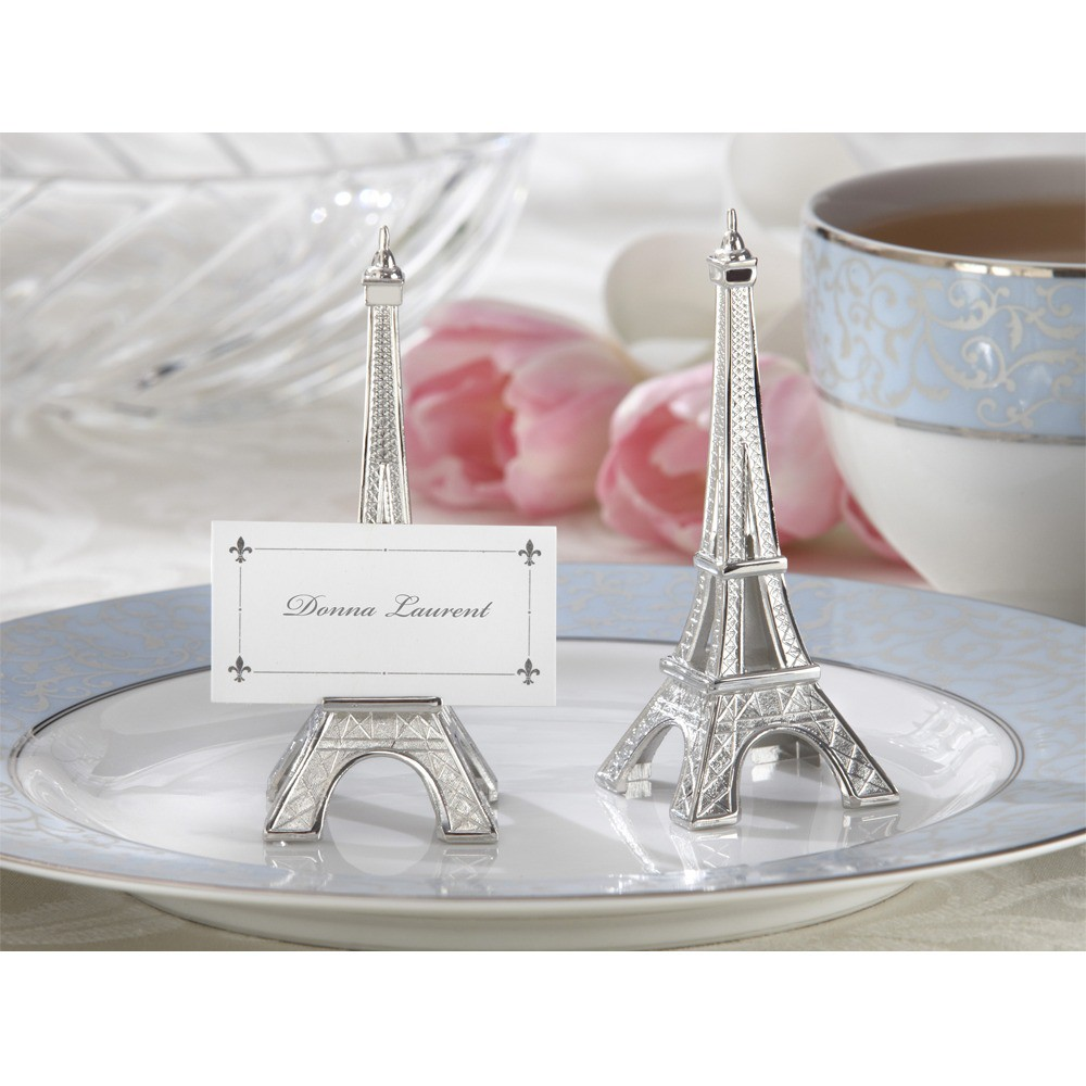 12ct Kate Aspen Eiffel Tower Table Place Holder