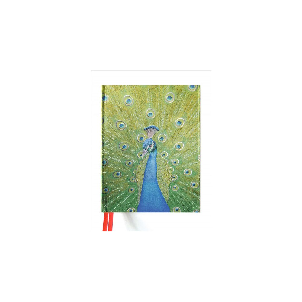Peacock Blank Sketch Book (Hardcover)