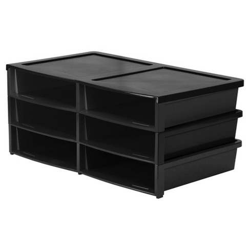 Storex® Quick Stack Organizer - 6 Compartments - image 1 of 1