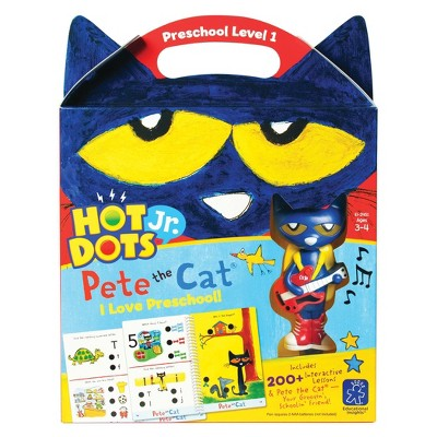 Hot Dots Jr. Pete the Cat I Love Preschool Set - Learning Resources