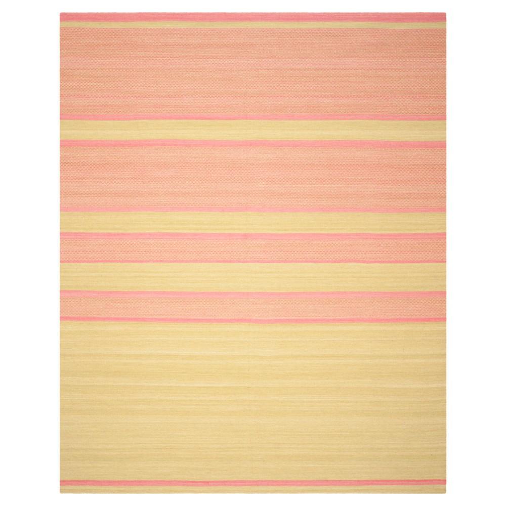 Nico Area Rug - Lime (Green) / Pink (8' X 10') - Safavieh