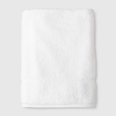 Performance Texture Bath Sheet White - Threshold™